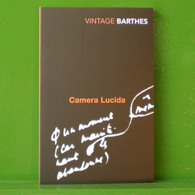 Camera lucida reflections on photography for Barthes la chambre claire